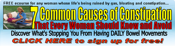 7 commom causes of constpation Horizontal Banner Ad - 600 x 160
