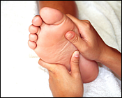4-Minute Reflexology Treatment for Constipation